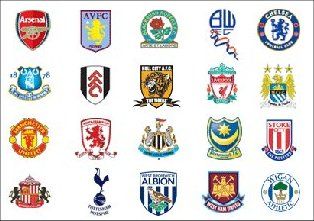 Premiership Football Badges